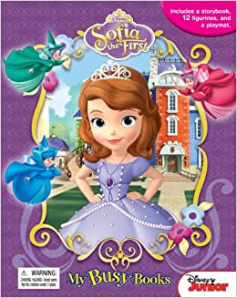 Disney Junior Sofia The First My Busy Books Activity Kit