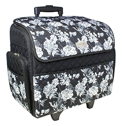 Everything Mary Rolling Sewing Machine Tote (Sewing Travel Organizer compare prices)