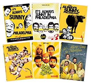 It's Always Sunny In Philadelphia Seasons 1-7 Collection