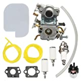 Harbot Carburetor +530057925 Air Filter Fuel Line Filter for Zama C1M-W26C 545070601 545040701 Poulan P3314 P3416 P3816 P4018 PP3416 PP3516 PP3816 PP4018 PPB3416 PPB4018 PPB4218 S1970 Gas Chainsaw