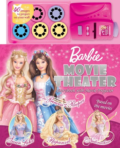 Barbie Movie Theater Storybook & Movie Projector