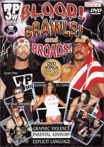 Cover art for  3PW: Blood Brawls & Broads