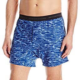 ExOfficio Men\'s Give-n-Go Printed Boxer, Riviera/Clouds, X-Large