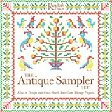 img - for The Antique Sampler Set: How to Design and Cross-Stitch Your Own Vintage Projects book / textbook / text book