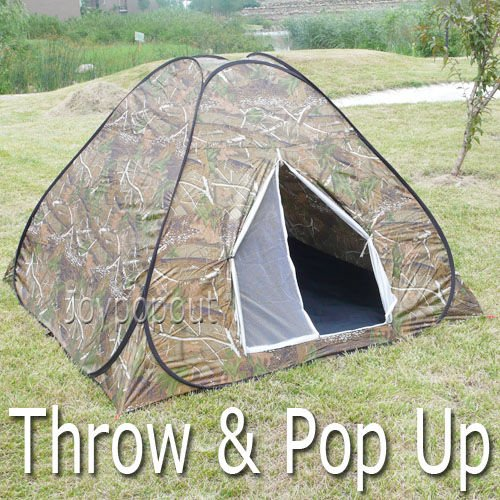 3 Person Forrest Camouflage Speedy Pop Up Hunting C&ing Hiking Backpacking Tent & Camo Tents.: 3 Person Forrest Camouflage Speedy Pop Up Hunting ...