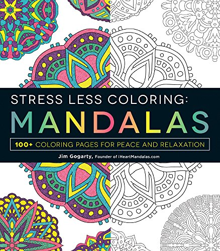 Stress Less Coloring - Mandalas