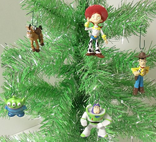 Toy Story Holidays : Toy story piece holiday christmas tree ornament set