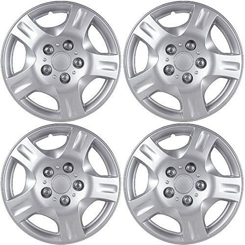 OxGord Hubcaps for Nissan Altima 2002-2004 Set of 4 Pack 15