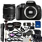 Canon EOS Rebel T5i (700D) DSLR Camer...