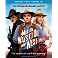 A Million Ways to Die in the West (Blu-ray + DVD + DIGITAL HD with UltraViolet)