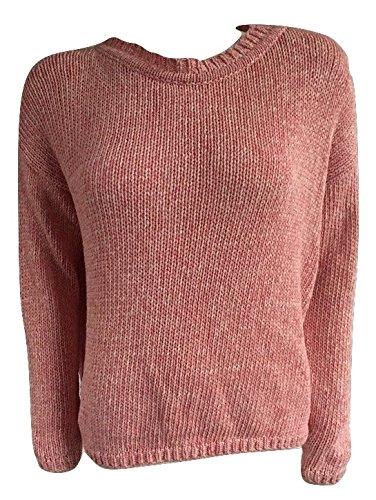 weekend-maxmara-womens-crew-neck-sweater-medium-peach-medium