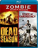 Zombie Double Feature (Dead Season, State of Emergency) [Blu-ray]
