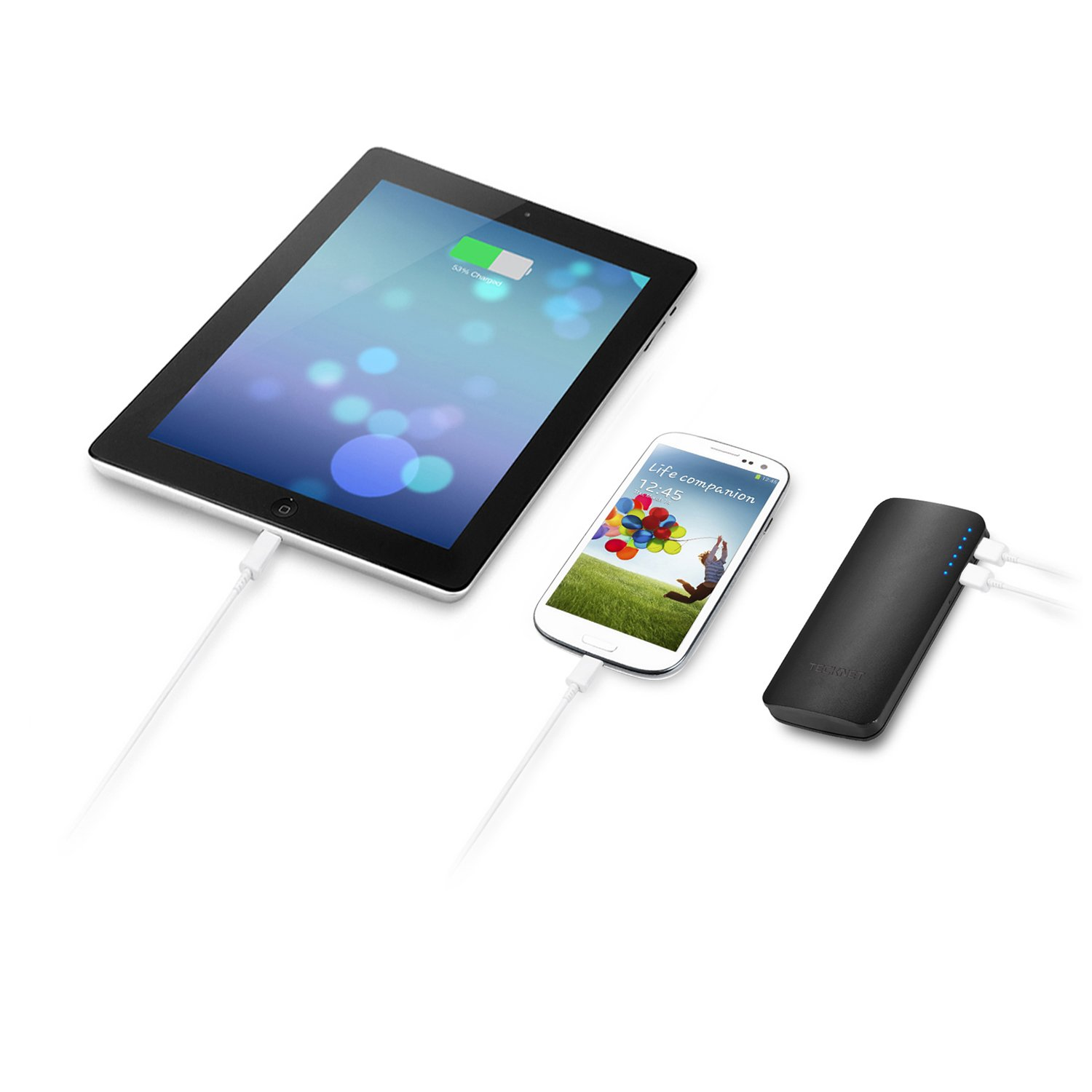 batterie externe iPad et iPhone Powerbank tecknet