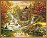 Schipper 609130507 - Malen nach Zahlen - Der Herbst, 40x50 cm