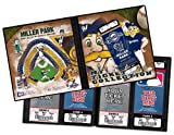MLB Milwaukee Brewers Ticket Album Mascot (Holds 96 Tickets)