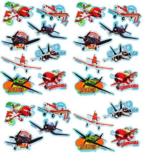 """24 tlg. Set _ Aufkleber / Sticker - """" Disney Planes - Flugzeuge Dusty """" - selbstklebend - für Jungen - Flugzeug Stickerset Kinder - z.B. für Stickeralbum / Figuren - Fahrzeuge / Cars"""
