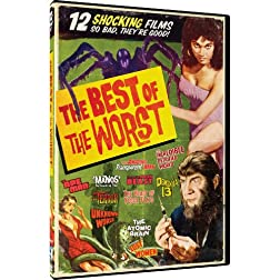 Best of the Worst 12 Horror Movie Collection