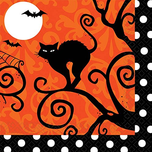Frightfully Fancy Halloween Beverage Napkins (36 count)