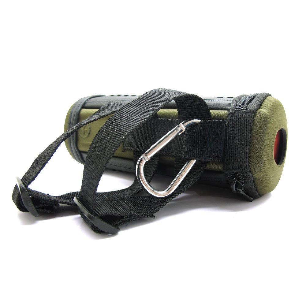 co2CREA(TM) Black PU Leather Case Travel Carry Bag Protective Skin Motor Bike Bicycle Mount Carabiner Clip For Logitech Ultimate Ears UE BOOM Wireless Bluetooth Speaker  whirlpool akr 350 ix