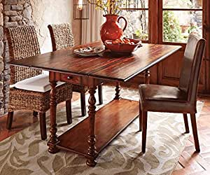 Convertible console table kitchen dining for Convertible console table
