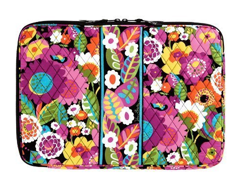 Vera Bradley 17 Laptop Sleeve in Va Va Bloom