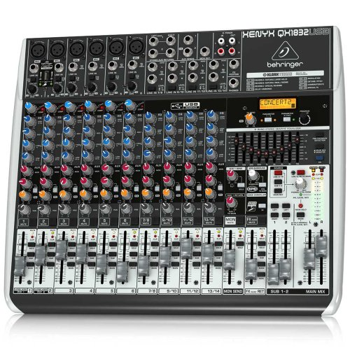 Behringer Qx1832Usb 18-Channel Mixer front-394062