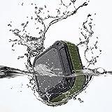 Dylan Bluetoothスピーカー 防水&防塵&耐衝撃 マイク内蔵 NFC/A2DP対応(アーミーグリーン)