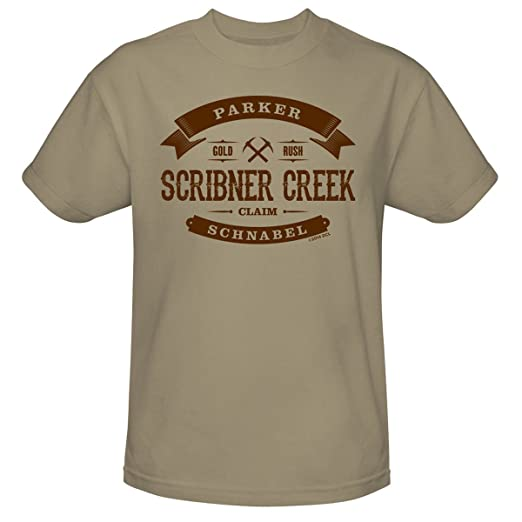 Gold Rush Scribner Creek Unisex T-Shirt - Sand Parker Gold Rush Ugly Kid