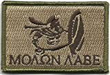 Spartan - Molon Labe Tactical Patch - Multitan