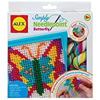 ALEX Toys - Craft, Simply Needlepoint Butterfly Kit by ALEX Toys