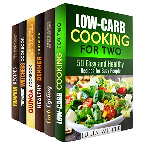 Healthy and Delicious Weight Loss Recipes Box Set: Over 200 Low Carb Low Fat Gluten Free Recipes for Your Health and Rapid Weight Loss (Low-Fat & Gluten-Free) by Janet Hicks, Vanessa Riley, Vicki Day, Julia White, Peggy Carlson, Nina Craig
