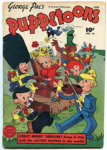 George Pal's Puppetoons #12 1947-CULT CLASSIC-BLACK HERO VG (Heroes And Cults compare prices)