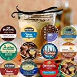 24 cup Super Soothing Vanilla Coffee Sampler, You Are Guaranteed 12 Different types of Vanilla! Vanilla Velvet, Vanilla Nut +