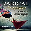 Radical Acceptance: Guided Meditation to Change Your Life, Transform Your Thinking, Feel Better Now and Become a Better You Speech by Zofia Wright Narrated by Nicki Jones