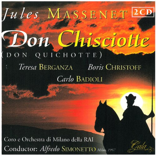 Don Quijote (T.Berganza -B.Chistoff) - Massenet - CD