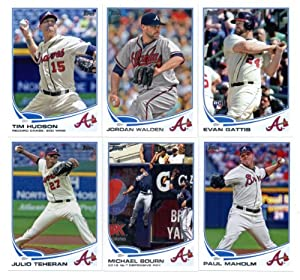 2013 Topps Baseball Cards Series 2 Team Set: Atlanta Braves (11 Cards) Kris Medlen,... by Topps