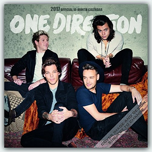 One Direction 2017 - 16-Monatskalender: Original Danilo-Kalender