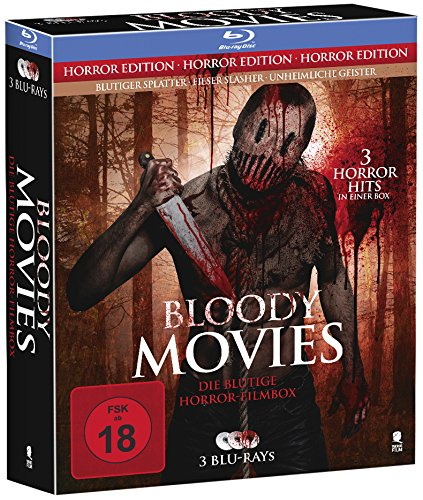 Bloody Movies - Die blutige Horror-Filmbox [3 Blu-rays]