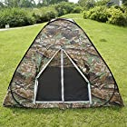 Camouflage Camping Hiking Easy Setup Instant Pop up Tent