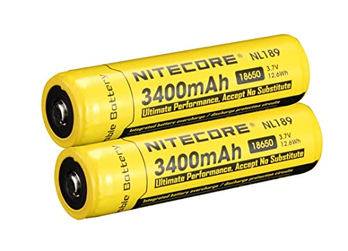 Nitecore NL189 2014 Universal 18650 Li-Ion Recharger Battery With 3400mah