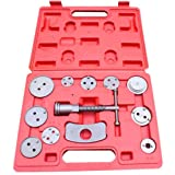 AUSWIEI 21 or 12 Pcs Sets Butterfly Brake Sub-Pump Adjustment Group Brake Pad Disassembly Replacement Tool Car Repair Special Tools (Color : 12pc) (Color: 12pc)