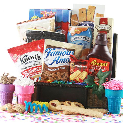 I Scream, You Scream Ice Cream Gift Basket (Ice Cream Cone Gummies compare prices)