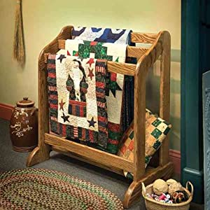 Woodworking Project Paper Plan to Build Heirloom Quilt Stand - Quilt ...