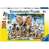 Ravensburger - Puzzle amigos africanos, 300 piezas (13075 7)