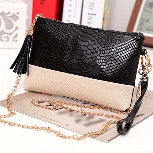 Women Messenger Bag PU Leather Crossbody Satchel Tote Clutch Shoulder Handbag, NK. (Kirby Vacuum Bag Clip compare prices)