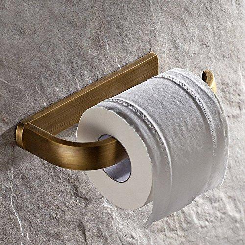 Weare Home Design Retro Toilettenpapierhalter Klorollenhalter für Badezimmer Dusche Küche aus hochwertig Bronze