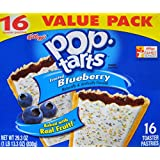 Pop-Tarts Frosted Blueberry Toaster Pastries (1 Pack)