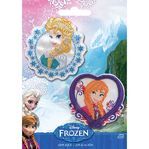 Simplicity 1931104001 Disney Frozen Elsa and Anna Applique Set