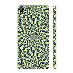 Huawei P7 Drives you Crazy designer mobile hard shell case by Enthopia