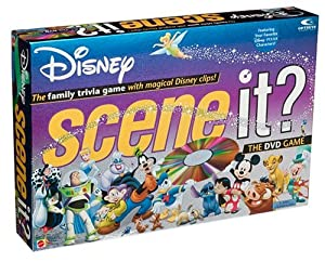 Scene It? Disney Edition DVD Game